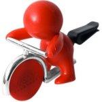 Mr&Mrs Fragrance Gino Peppermint červený panáček s žetonem