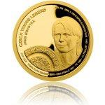 Česká mincovna Zlatá čtvrtuncová mince České tenisové legendy Jana Novotná proof 7,78 g