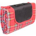 Merco pikniková deka Hike 150x180cm, skládací červená