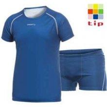 Dětské termoprádlo Craft Basic Smart set komplet triko a boxerky 10 modrá