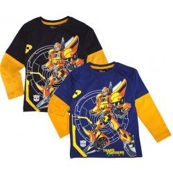 30b04307d24d Tričko Transformers černé dětské tričko - Nejlepší Ceny.cz