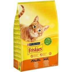 Friskies Cat s hovězím kuřecím masem a zeleninou 10 kg