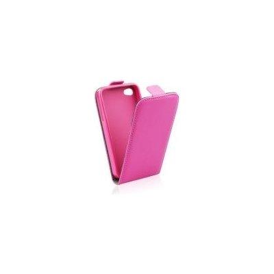 Pouzdro ForCell Slim Flip Flexi LG D290n L Fino růžové