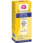 Dermacol Eye Gold Gel Oční gel proti otokům, únavě a kruhům pod očima 15 ml