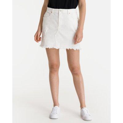 Replay sukně dámské bílá