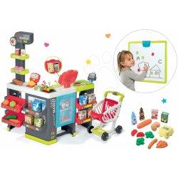 077c69863 Smoby obchod City Shop s pokladnou a Écoiffier potraviny 350211-1 ...