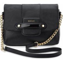 273fe609d334 Monnari kabelka s řetízkem a klopou černá