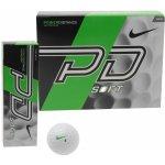 Nike PD9 Soft golfové míče, bílé