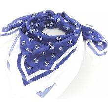5cc12914bf3 Dámský šátek NÁMOŘNICKÝ kormidla modrý