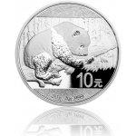Panda Česká mincovna Stříbrná investiční mince 30 g proof