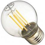Ledlumen LED žárovka 4W 4xCOS Filament E27 470lm CCD Teplá bílá