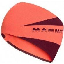 Mammut Sertig Headband barberry merlot