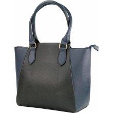 Beiyani velká dámská kabelka černo modrá