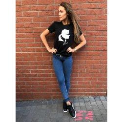 fdd3fa8581e9 Karl Lagerfeld Karl Ikonik Head T-shirt Black. Stylové
