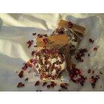 Mýdlárna Šafrán Růžová šumivka do koupele 45 g