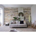 omar 8NW-920 Vliesová fototapeta na zeď Whitewashed Wood, rozměry 368 x 248 cm