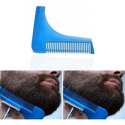 KIK Hřeben a šablona na zastřihování vousu