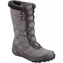Columbia Youth Minx Mid II Waterproof Omni-Heat BY 1313 Shale/Glamour 051