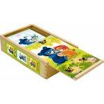 Bino 13207 Kostky Baribal v krabičce 15 kusů