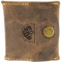 Greenburry Kožená peněženkana mince 1809 25 hnědá