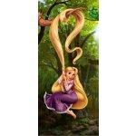 DECOFUN Fototapeta 1dílná Princezna Rapunzel 2 92x202 cm