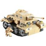ICOM Blocki německý tank PZKPFW-III WW2 548 dílů