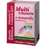 MedPharma Multivitamín s minerály + extra C 107 tablet
