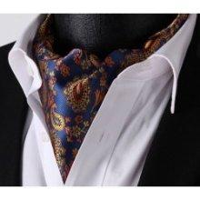 Askot Pánský kravatový šátek modrý 07072a3058