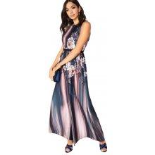 Little Mistress barevné maxi šaty Julia s květy 57f9625ae4