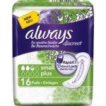 Discreet Hygieneeinlagen Blasenschwäche Binden Small Plus, 16 ks