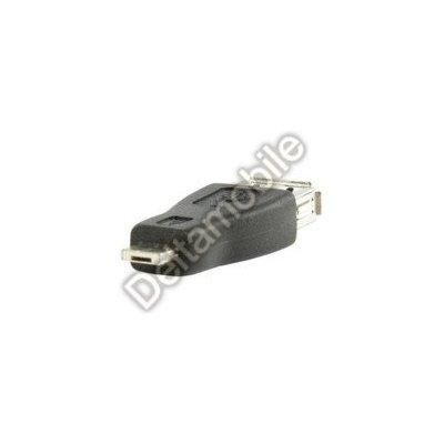 USB redukce USB A/female - Micro USB B/male