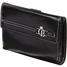Castelijn & Beerens 393042 dámská kožená peněženka černá