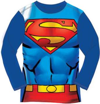 Tričko s dlouhým rukávem Superman modrá od 129 Kč - Heureka.cz 79a72f0fc7