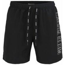 Calvin Klein černé pánské plavky Medium Drawstring s logem 99af6ae5d6