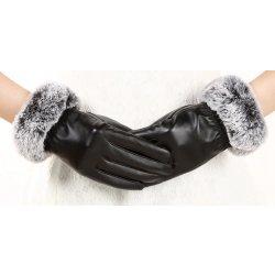 dámské kožené rukavice černá od 169 Kč - Heureka.cz 2eb4efd034
