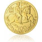 Česká mincovna Zlatý 100dukát Vladislava II. stand 348,5 g