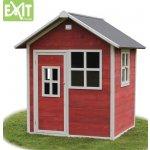 Dětský domeček na zahradu Loft 100 červený