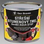 DEN BRAVEN Střešní bitumenový tmel DenBit AQUA STOP 3kg vědro