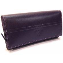 Emporio Valentini 563 Pl09 fialová dámská kožená peněženka