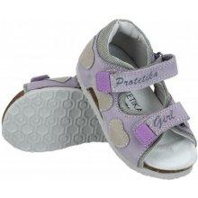 f8384df96b48 Dětská ortopedická obuv - typ 109 fialová