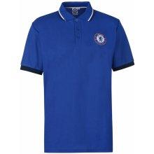 Source Lab Chelsea FC Polo Shirt Mens Blue