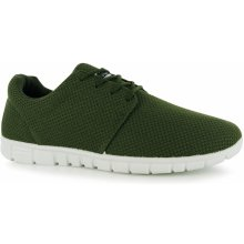 Fabric Mercy Runner Mens Trainers Khaki
