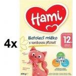 Hami 3 Vanilka +12m 600g x 4ks