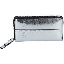 Calvin Klein Dámská peněženka Marionet stříbrná b5aab3866f1