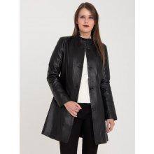 Giorgio Di Mare GI429875 kožený kabát black