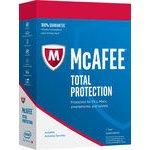 McAfee Total Protection 1 lic. Elektronická licence (MTP00QNR1RDD)