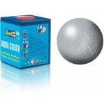 Revell akrylová 36190: metalická stříbrná silver metallic