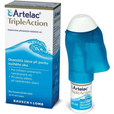 Bausch & Lomb oční kapky Artelac TripleAction 10 ml