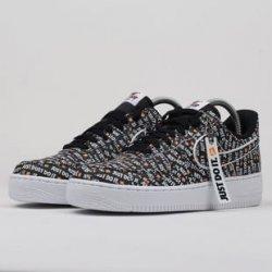 Nike Air Force 1  07 LV8 JDI black   black white total orange ... f7a0d5c33a0