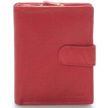 Delami Peněženky Dámská kožená peněženka Celestiel Červená červená